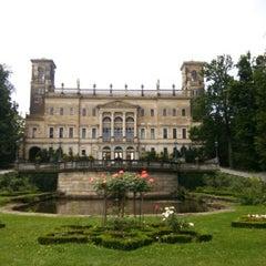 Photo taken at Schloss Albrechtsberg by Emre B. on 8/3/2014