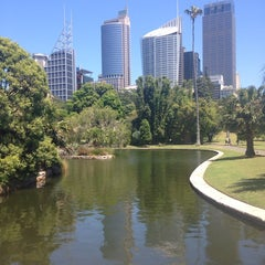 Photo taken at Royal Botanic Garden by Olivia P. on 11/6/2013