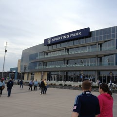Photo taken at Sporting Park by Angie L. on 4/6/2013