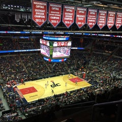 Photo taken at Washington Wizards by Flavia R. on 12/28/2014