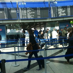 Photo taken at Dortmund Airport (DTM) by Kolja S. on 4/25/2014