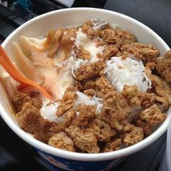 Photo taken at Huddle's Frozen Yogurt by Jamie R. on 10/23/2012