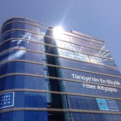 Photo taken at Türk Telekom Genel Müdürlüğü by Merve E. on 5/6/2013