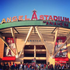 Photo taken at Angel Stadium of Anaheim by Shawn S. on 6/20/2013