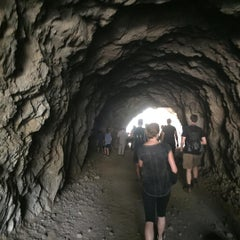 Photo taken at Bronson Caves by Janice G. on 10/18/2015