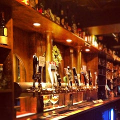 Photo taken at Novare Res Bier Cafe by Jason B. on 12/8/2012