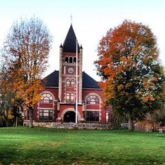 Photo taken at Thompson Hall by Jason B. on 10/18/2012