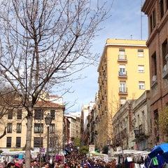 Photo taken at Rastro de Madrid by Alipe on 3/31/2013