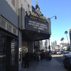 Photo taken at Saban Theater by Christopher K. on 1/26/2013