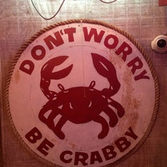 Photo taken at Crabby Bill's Seafood by Glenn C. on 1/20/2013