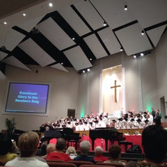 Photo taken at First Baptist Church Of New Port Richey by Eatery A. on 12/8/2013