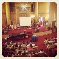 Photo taken at Congregation Beth Elohim by David M. on 6/21/2013