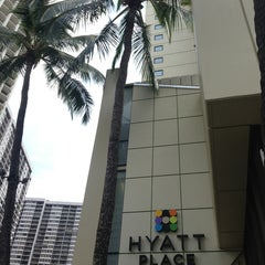 Photo taken at Hyatt Place Waikiki Beach by @MiwaOgletree on 3/26/2013