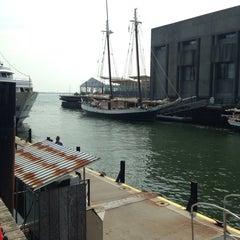 Photo taken at Boston Harbor Cruises by Vaquita M. on 8/1/2014