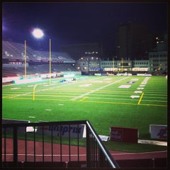 Photo taken at Stade Percival-Molson Memorial Stadium by Coco D. on 6/13/2013