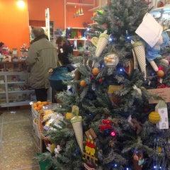 Photo taken at CAPOVERSO Prodotti Vegan, Bio, Ecocompatibili, Equosolidali by Fabiana G. on 12/17/2014
