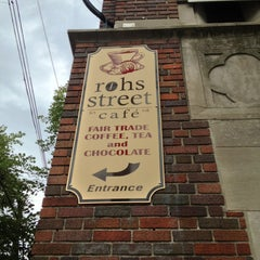 Photo taken at Rohs Street Cafe by Jeff J. on 6/18/2013