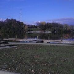 Photo taken at Sunset Park by Joshua Z. on 10/20/2012