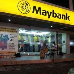 Photo taken at Maybank by Wak J. on 5/11/2014