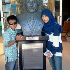 Photo taken at Puspa Iptek Sundial by Sari R. on 12/27/2013
