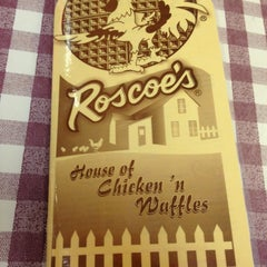 Photo taken at Roscoe's House of Chicken and Waffles by Jason on 5/31/2013