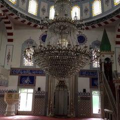 Photo taken at Etiler Camii by Ahmet K. on 5/24/2015