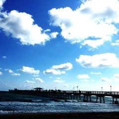 Photo taken at Lauderdale-By-The-Sea by Haje Jan K. on 2/4/2015