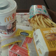 Photo taken at Mc Donald's by Monica Z. on 6/16/2014