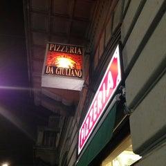 Photo taken at Pizzeria Da Giuliano by Fabrizio C. on 1/27/2013
