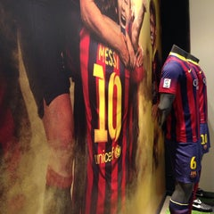 Photo taken at FCBotiga Official Store by Alex on 1/21/2014