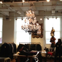 Photo taken at Brooklyn Denim Company by Patti K. on 12/15/2012