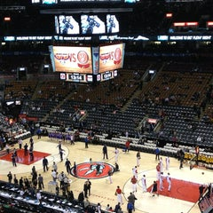 Photo taken at Air Canada Centre by Albert C. on 3/28/2013