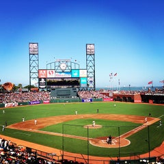 Photo taken at AT&T Park by Jessica R. on 7/6/2013