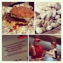 Photo taken at Five Guys by deehides on 7/3/2013