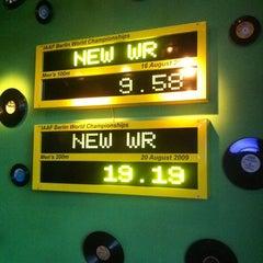 Photo taken at Usain Bolt's Tracks & Records by Steven G. on 4/4/2013
