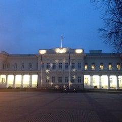 Photo taken at Vilniaus universiteto Filosofijos fakultetas by Kamilė D. on 11/19/2013