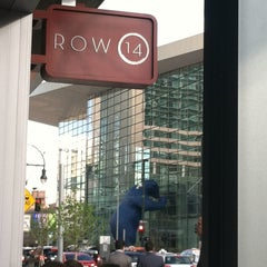 Photo taken at Row 14 Bistro & Wine Bar by Cathy S. on 5/11/2013