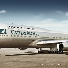 Photo taken at Cathay Pacific Lounge by Peter H. on 1/4/2013