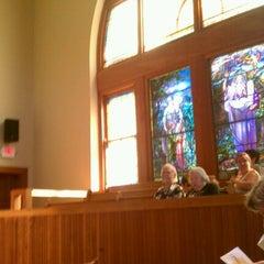 Photo taken at First Unitarian Church of Cincinnati by Nathan M. on 9/16/2012