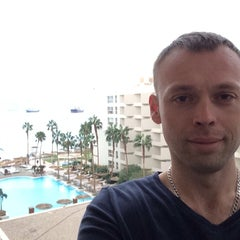 Photo taken at Le Méridien Eilat by Aleksey B. on 1/9/2014