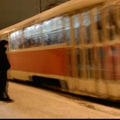 Photo taken at Трамвайна станція «Семена Скляренка» by Лёхус V. on 12/9/2013