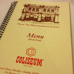 Photo taken at Coliseum Café & Grill by Margenie W. on 1/4/2013
