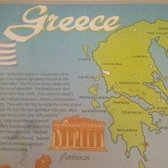 Photo taken at Grecian Island Restaurant by Serena💋 on 3/2/2013