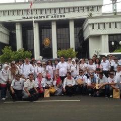 Photo taken at Mahkamah Agung Republik Indonesia by Imam S. on 10/30/2014