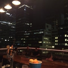 Photo taken at Henry's Roof Top Bar - @RSHotel by Xavi G. on 5/27/2014