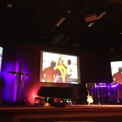 Photo taken at Heartland Vineyard Church by Dan D. on 11/16/2014