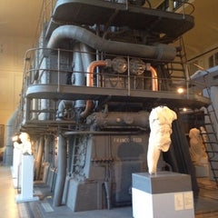Photo taken at Centrale Montemartini by Kim G. on 2/28/2015