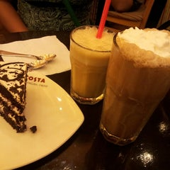 Photo taken at Costa Coffee by Abhishek C. on 3/31/2013