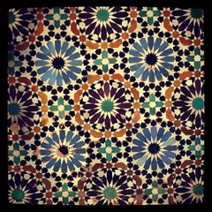 Photo taken at Saadian Tombs | قبور السعديين by CONDE on 9/22/2013