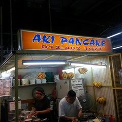 Photo taken at Aki Pancake by bryant s. on 12/31/2012